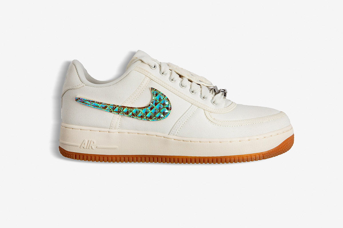 "new style 2d02d c829e ""The Travis Scott x Nike Air Force 1 ""Sail"" is my favorite cop of the year  because of all the details that went into the collaboration."