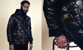 Patta Debuts Glossy All-Black M-65 Leather Liner Jacket