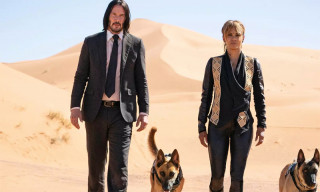 Keanu Reeves & Halle Berry Strut Through the Desert in 'John Wick 3'
