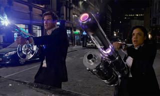 'Men in Black: International' Stars Chris Hemsworth & Tessa Thompson Fighting Aliens