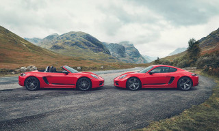 Porsche Unveils New Touring Models of the Boxster & Cayman