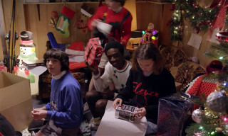 Seeing the 'Stranger Things' Kids Wrap Christmas Presents Will Put You in the Holiday Spirit
