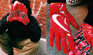 Supreme Officially Unveils Nike Football Gloves, Dropping Tomorrow