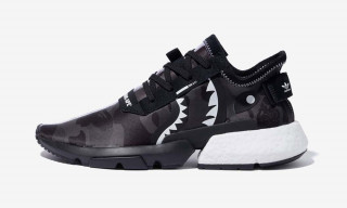 Here's an Official Look at the BAPE x NEIGHBORHOOD x adidas POD-S3.1 & NMD STLT