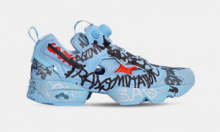 "Vetements Announces New Reebok Instapump Fury ""Graffiti 2.0"""