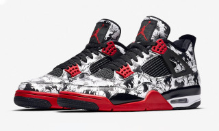 "The Air Jordan 4 ""Tattoo"" Gets an International Release"