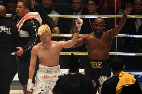 Fans react to Floyd Mayweather's first-round demolition of Tenshin Nasukawa