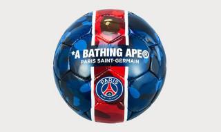BAPE & Paris Saint-Germain Unveil Co-Branded Football