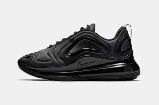 "eb3b0335d1170f Nike s Air Max 720 Debuts in Stealthy ""Triple Black"""