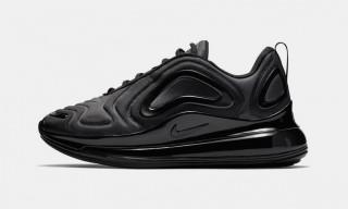 """Nike's Air Max 720 Debuts in Stealthy """"Triple Black"""""""