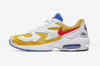 "new style 3887c 86f9d Nikes Air Max2 Light Is Back in ""University Gold"""