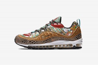 "251a6744980 Take a Closer Look at Nike s Chinese New Year Air Max 98 ""Year of the Pig"""
