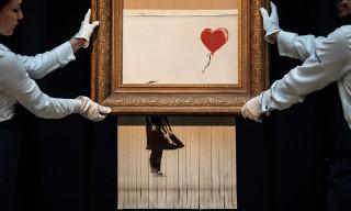 Banksy's Shredded 'Love Is in the Bin' Work Is Getting an Exhibition