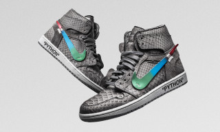 """The Shoe Surgeon's """"Menta"""" Air Jordan 1 Is OFF-WHITE x Nike Gone Luxe"""