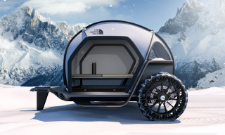 This Is What BMW & The North Face Think Future Campers Could Look Like