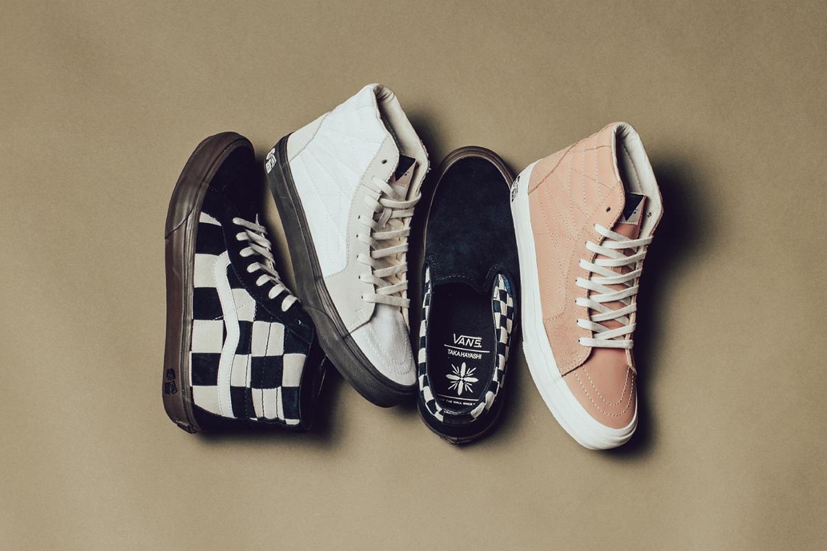 It s Not Too Late to Cop Taka Hayashi s Reworked Checkerboard Vans 4e4bbd16c