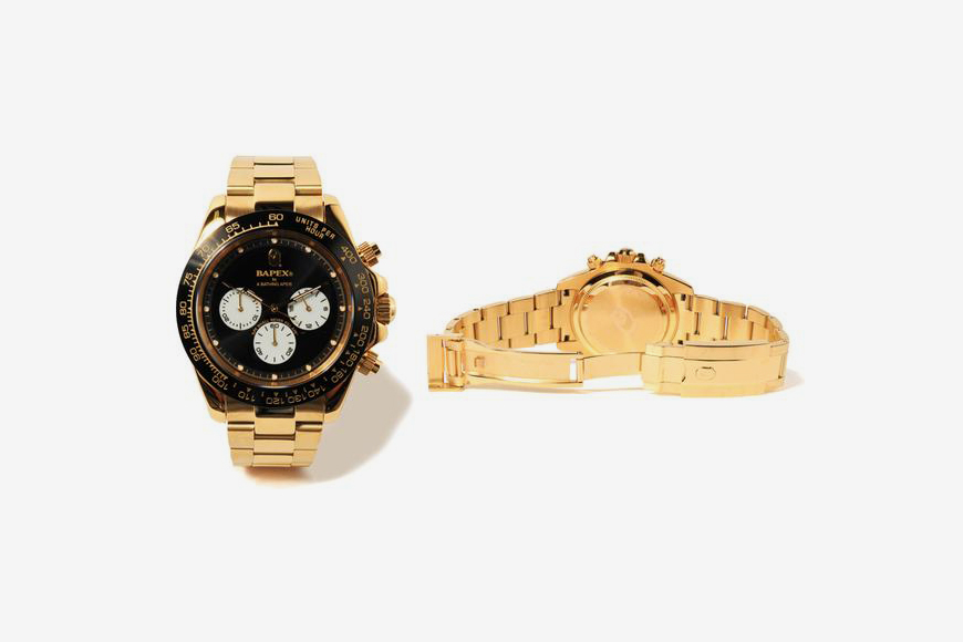 Bape Is Dropping A Gold Type 4 Bapex This Week Celebrity Best News