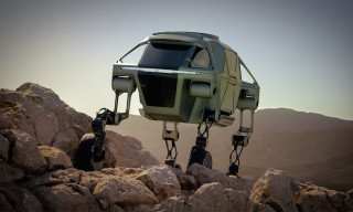 Hyundai Reveals Futuristic Walking Car Concept