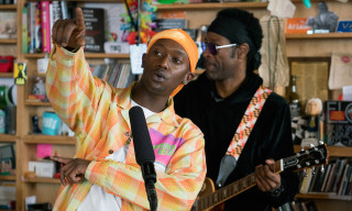 Buddy Performs 'Harlan & Alondra' on NPR's Tiny Desk Concerts