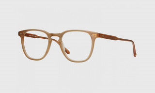Garrett Leight & JJJJound Debut Caramel Colored Co-Branded Eyewear