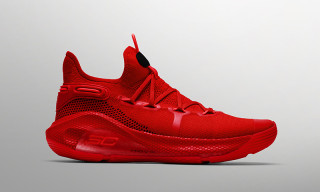 Stephen Curry's Under Armour Curry 6 Gets Fierce All-Red Colorway