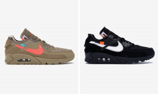 Here's How Much the Nike x OFF-WHITE Air Max 90s Are Reselling for Ahead of Release
