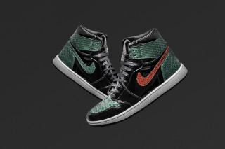 54a04591952 The Shoe Surgeon Adds Python   Patent Leather to the SoleFly Air Jordan 1