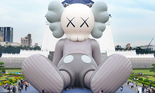 Peep a Closer Look at KAWS' Jaw-Dropping 36-Meter-Long COMPANION Sculpture