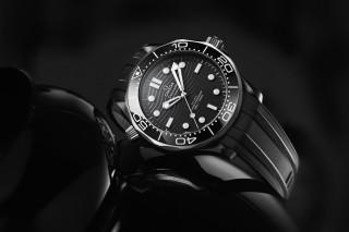 Omega's Seamaster Diver 300M Receives a Titanium & Black Ceramic Makeover