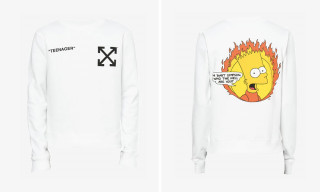 This Bart Simpson OFF-WHITE Capsule Is Guaranteed to Turn Heads on the Street