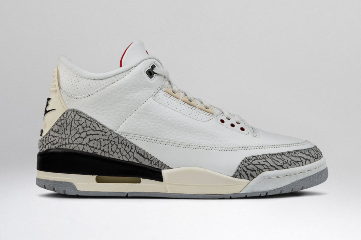 low priced ba3c9 2ee61 The Complete History of the Nike Air Jordan 3 – HUSH. Weekly