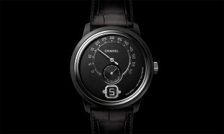 Chanel Gives Its Luxury Monsieur Watch a Slick Blackout Makeover