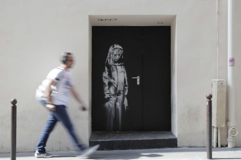 Banksy Artwork Stolen in Paris