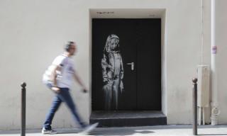 Banksy Artwork Stolen in Paris