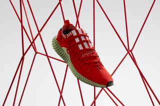 finest selection 5810c ca755 Y-3s 4D Runner Dropping in Striking Red Colorway