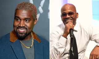 Kanye West Freestyles With Dame Dash in Los Angeles Studio