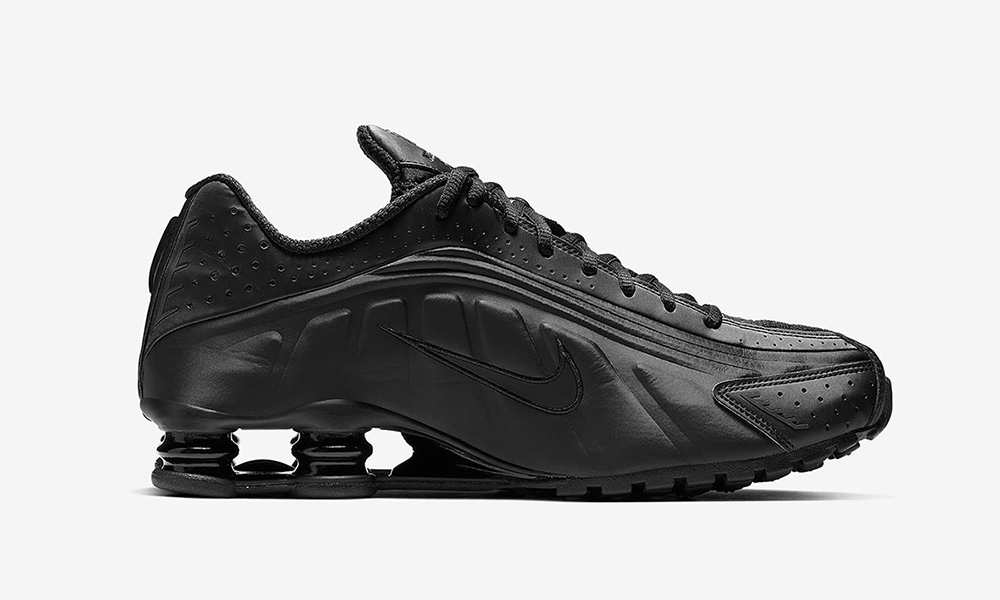 "Nike Shox R4 ""Triple Black""  Release Information be1733998e53"