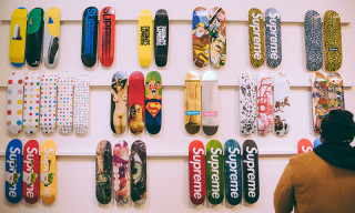 Supreme Skate Deck Collection Sells for a Whopping $800K