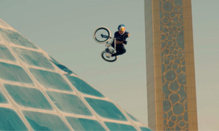 Watch Kriss Kyle Land Insane BMX Tricks on Dubai's Most Famous Landmarks