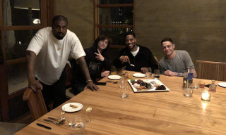 Kanye West, Timothée Chalamet & Pete Davidson Hung Out Last Night for Kid Cudi's Birthday