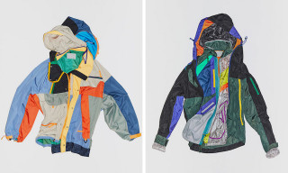 kolor Drops Puzzle-Like Asymmetrical Jackets