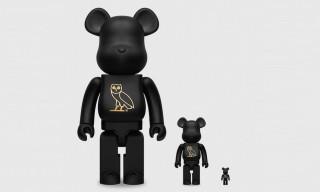 Drake's OVO & Medicom Toy Are Dropping All-Black Be@rbricks
