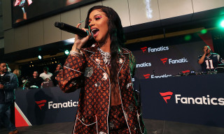 Cardi B Just Made Cat-Print Louis Vuitton Pajamas Acceptable Party Wear