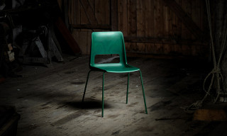 Snøhetta's S-1500 Chair Is Made From Recycled Fish Nets