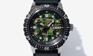 This BAPE x Seiko Dive Watch Is Perfect for the Summer Vacation
