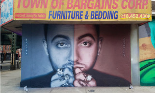 A Mac Miller Mural Has Popped Up in Brooklyn