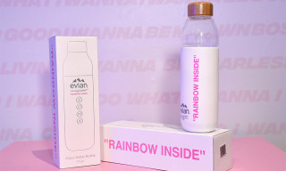 The Evian by Virgil Abloh x SOMA Water Bottle Has Been Revealed