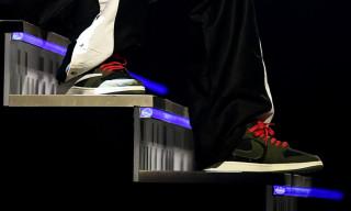 Travis Scott Teases Collaborative Air Jordan 1 Low at Grammys