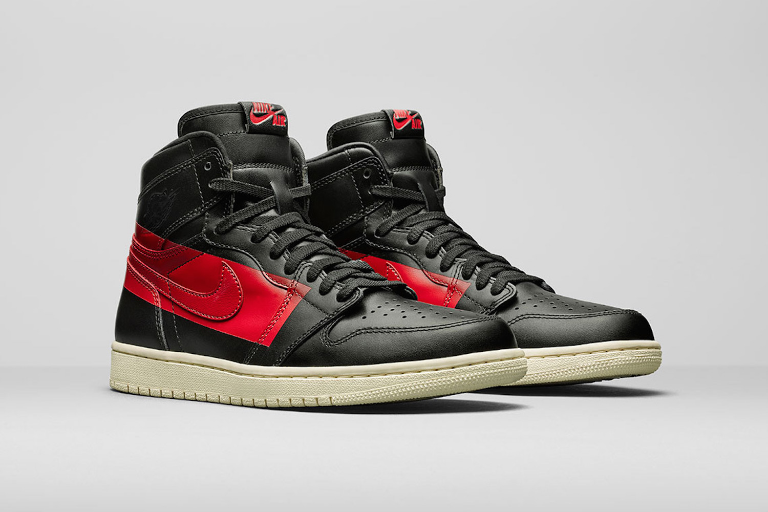 "The Bred-Striped Air Jordan 1 ""Couture"" Drops in EU Tomorrow 3697a5ef8"