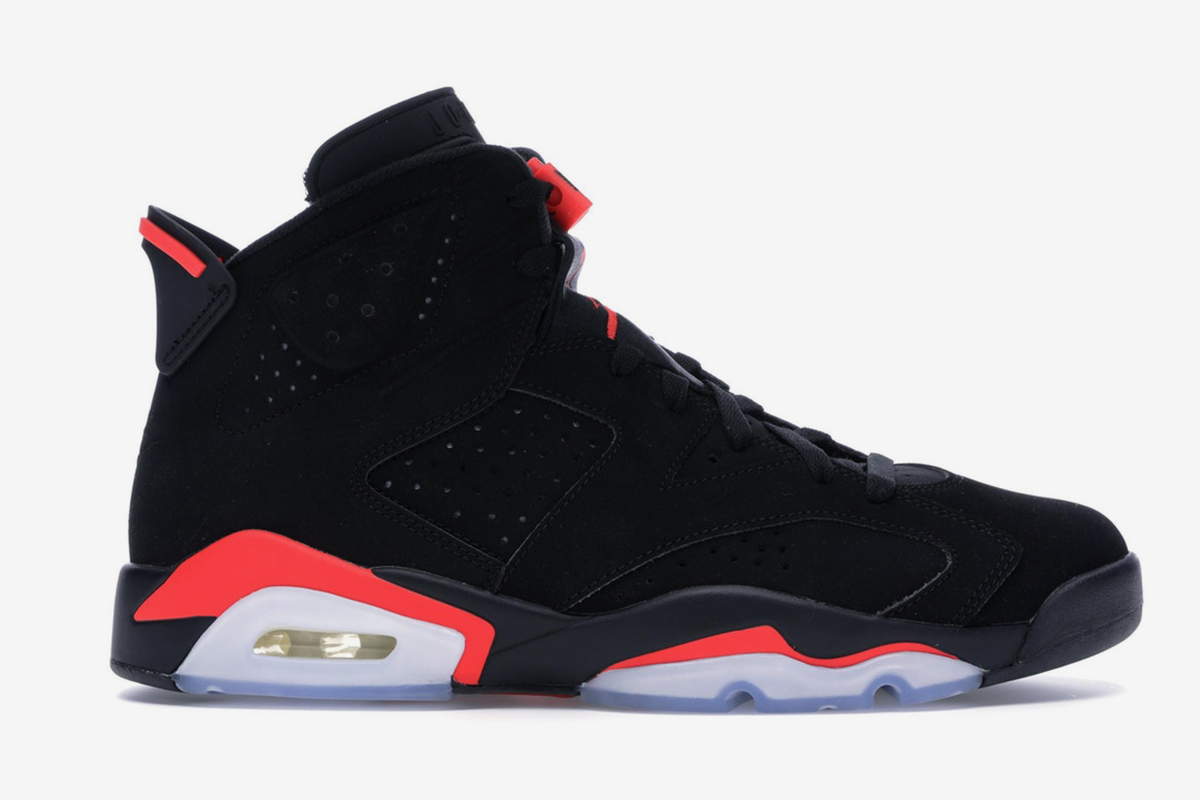 "b6e8db4d035b5 Cop the ""Infrared"" Jordan 6 With Original ""Nike Air"" Branding Ahead ..."